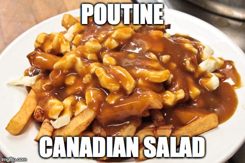 PoutinesSalad
