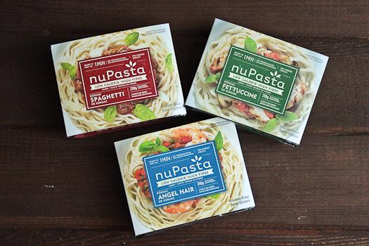 nuPasta konjac noodles
