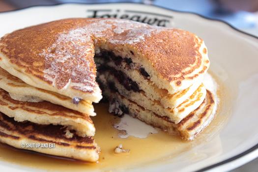 Foiegwa pancakes