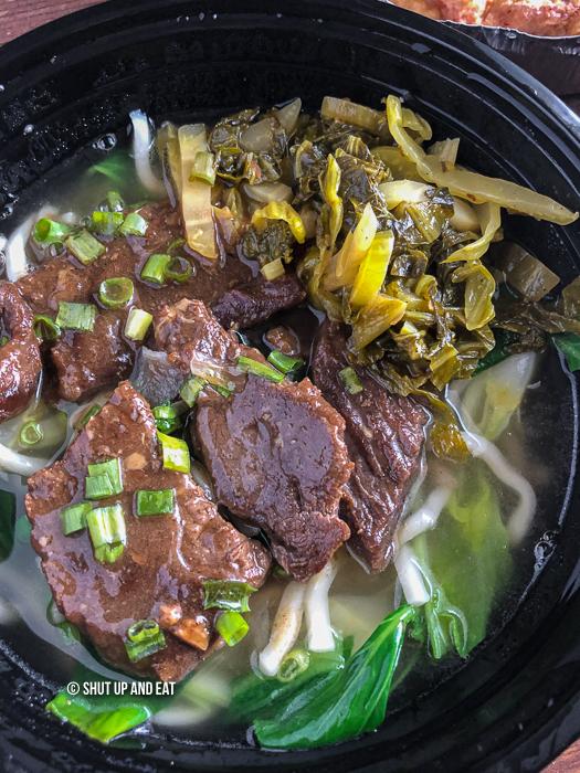 Maison Mignon beef noodle soup