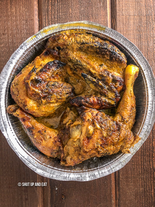 Congolese grilled chicken