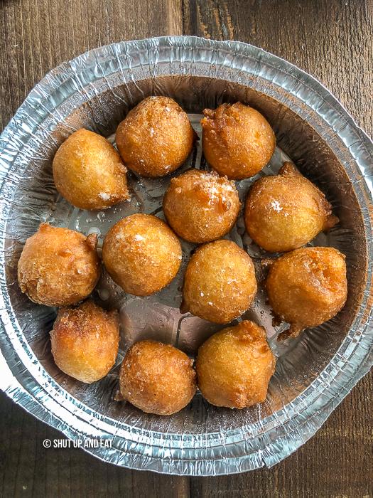 Congolese doughnuts - mikaté