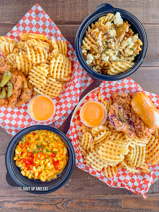fried chicken meals from Cali