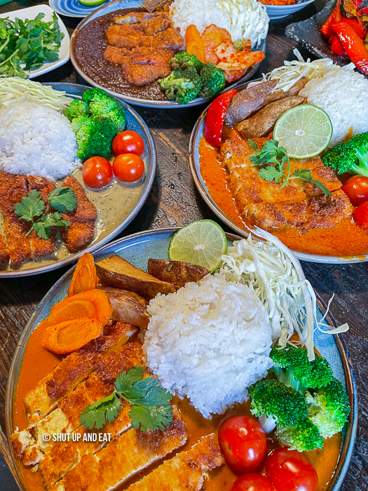 Table of curry