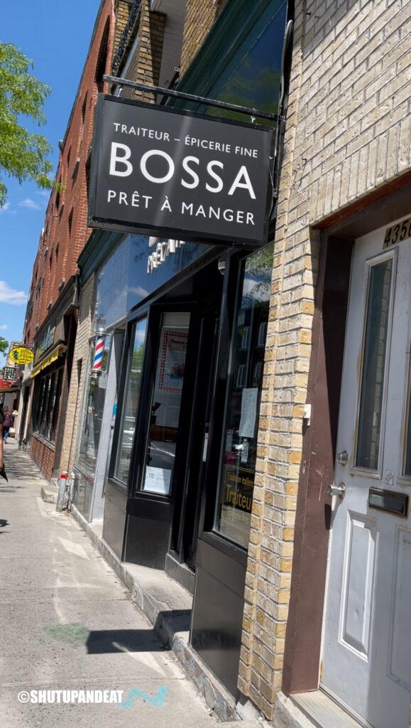 Bossa front door