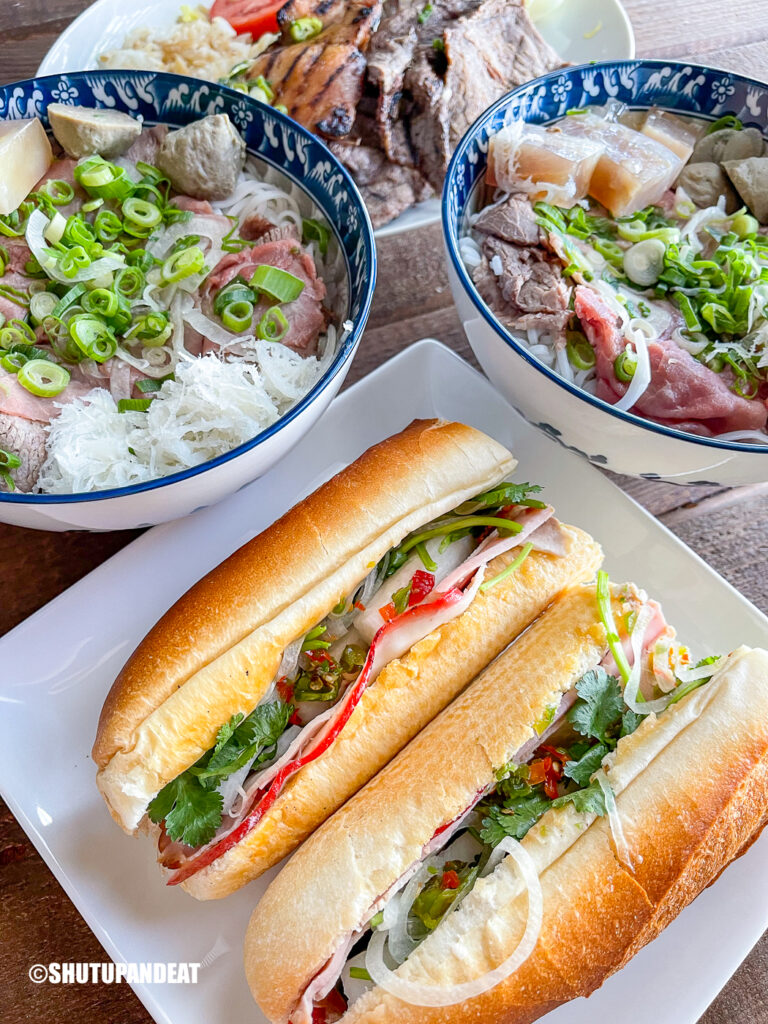 vietnamese pho lunch
